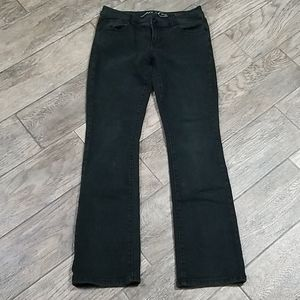 Inc denim 2p black boot leg regular fit